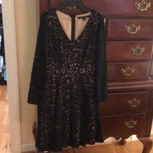 Cynthia Steffe black dress 2